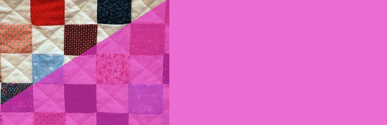 La classica coperta patchwork.