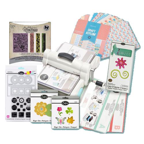 La Big Shot con il suo starter kit permette di iniziare a realizzare le proprie idee e progetti di cucito creativo.